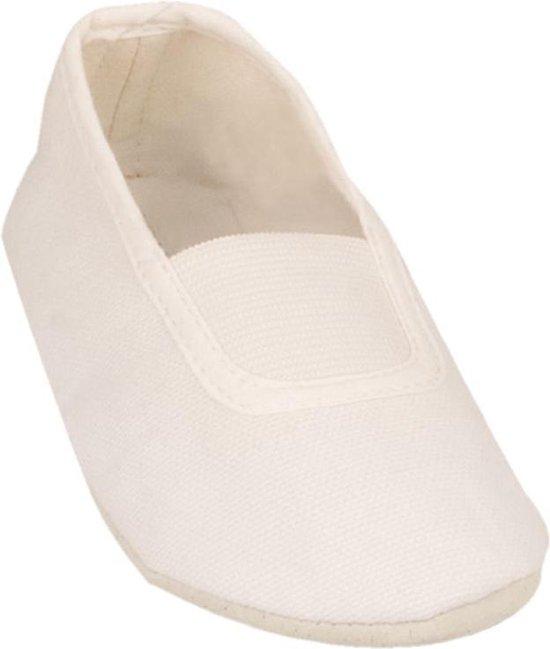 Balletschoenen - Canvas - Wit - 33