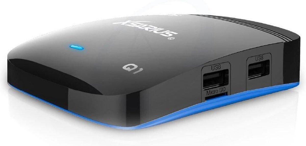 Xsarius Q1 4K | UHD IPTV ontvanger en mediabox