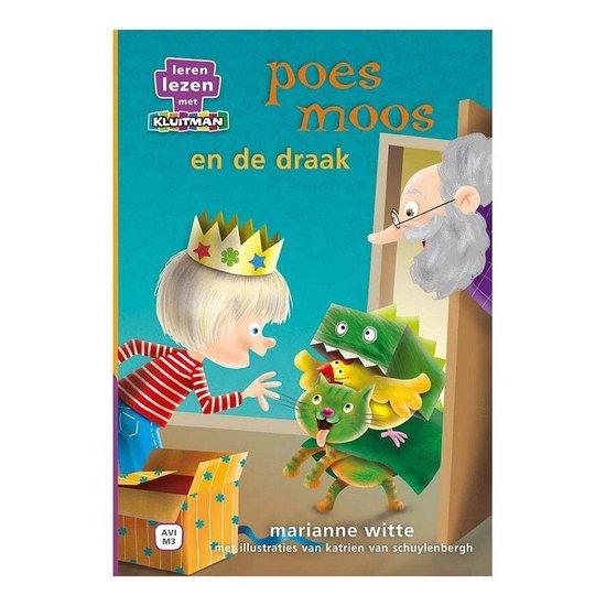 Leren lezen met Kluitman - Poes Moos 3: Poes Moos en de draak - Marianne Witte pdf epub