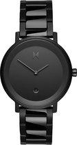 MVMT Signature II D-MF02-BL - Horloge - Zwart - Staal - 34mm
