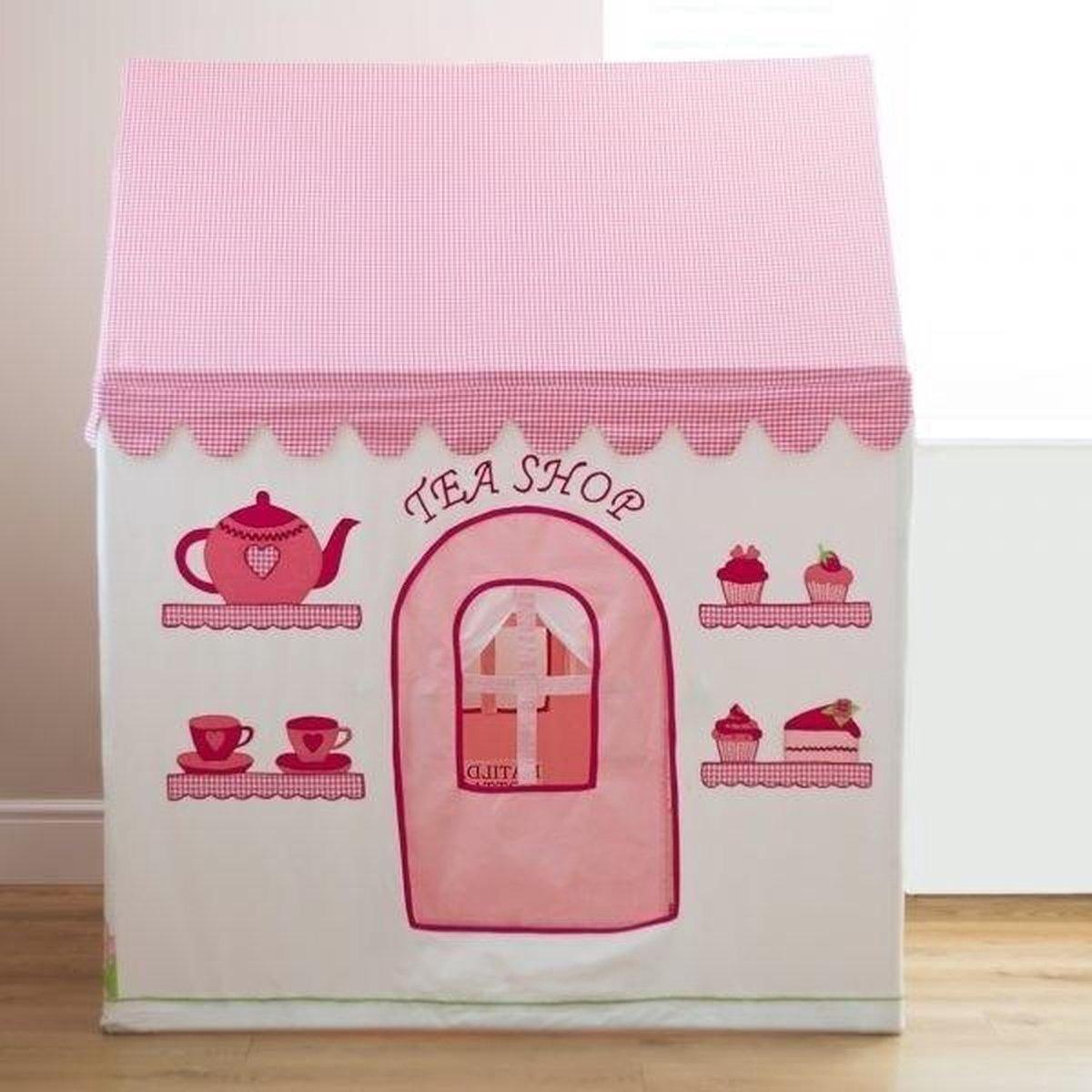 Rose Cottage & Tea Shop Speelhuis (Medium) - Kiddiewinkles