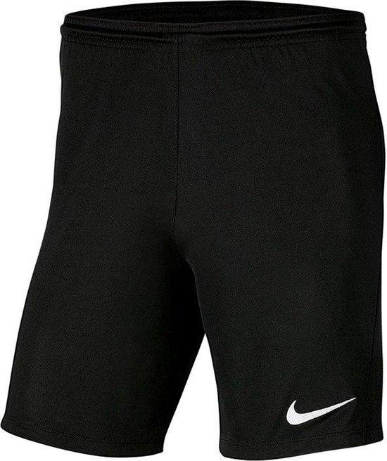 Nike Park III Short - Zwart | Maat: M