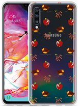 Galaxy A70 Hoesje Apples and Birds