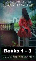 The Mia Kazmaroff Mysteries, Books 1-3