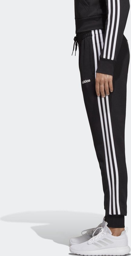 bol.com | adidas W Essentials 3S Pant Dames Broek - Black ...