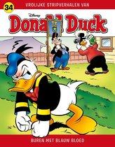Donald Duck Vrolijke Stripverhalen 34 - Buren met blauw bloed