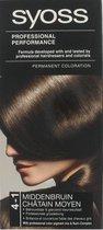 SYOSS Color baseline 4-1 Middenbruin - Haarverf