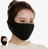 Relephance Face mask – Half face – Teddy – Klittenband sluiting- Skimasker - Mondkapje -Winter