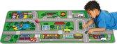 Afbeelding van Speelkleed stad en verkeer kinderen