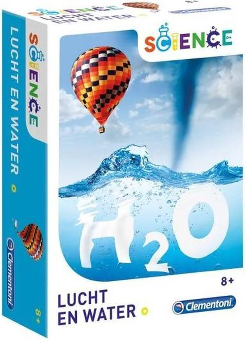 Science - H2O - Wetenschapsspel Lucht en Water - Clementoni