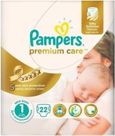 Pampers Premium Care Baby Luiers Maat 1 - 22 luiers
