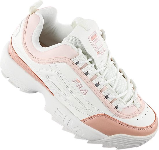 Fila Disruptor CB Low 1010604.02W Dames Sneakers Sportschoenen Schoenen Wit Maat EU 37 UK 3.5
