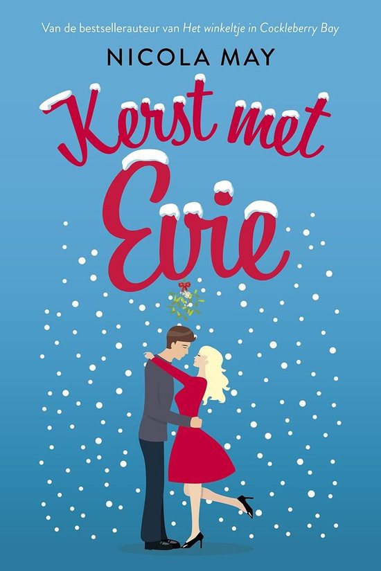 Boek cover Kerst met Evie van Nicola May (Onbekend)