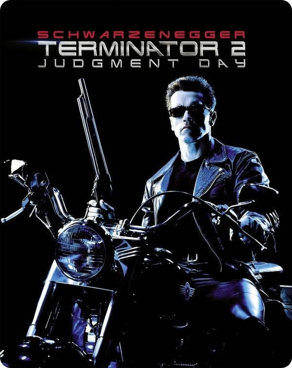 Terminator 2 : Judgement Day (1991) (Ultra HD Blu-ray & 3D Blu-ray in Steelbook)-