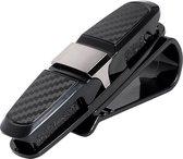 WiseGoods - Premium Brilhouder Auto - Zonnebril Houder Voor Auto - Brillenhouder Standaard
