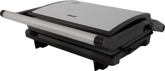 Tomado TGC2001S - kleine contactgrill - zwart/rvs - 750 watt