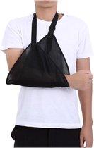 Mitella universeel - Arm sling - Schouderbandage - Voor arm en schouder - Armdrager pols - Volwassenen en kind - Zwart