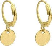 Mint15 Minimalistische oorringetjes – Klein rondje - Goldplated RVS / Stainless Steel