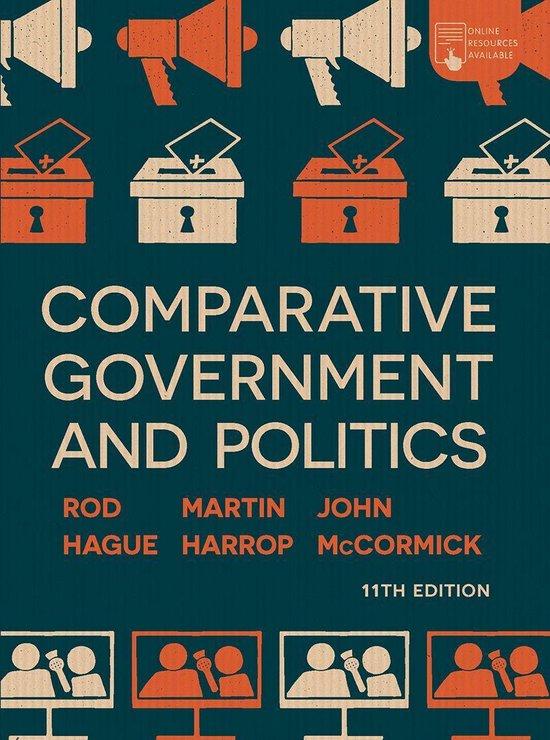 Boek cover Comparative Government and Politics van Rod Hague (Onbekend)