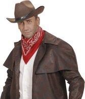 Rode cowboy bandana zakdoek