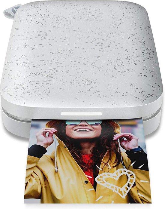 HP Sprocket 200 | 5 x 7,6 cm printformaat | Mobiele fotoprinter | Printen zonder inkt op Bluetooth