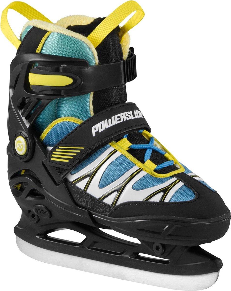 Powerslide Schaatsen - Maat 27-30 - Jongens - zwart/blauw/geel