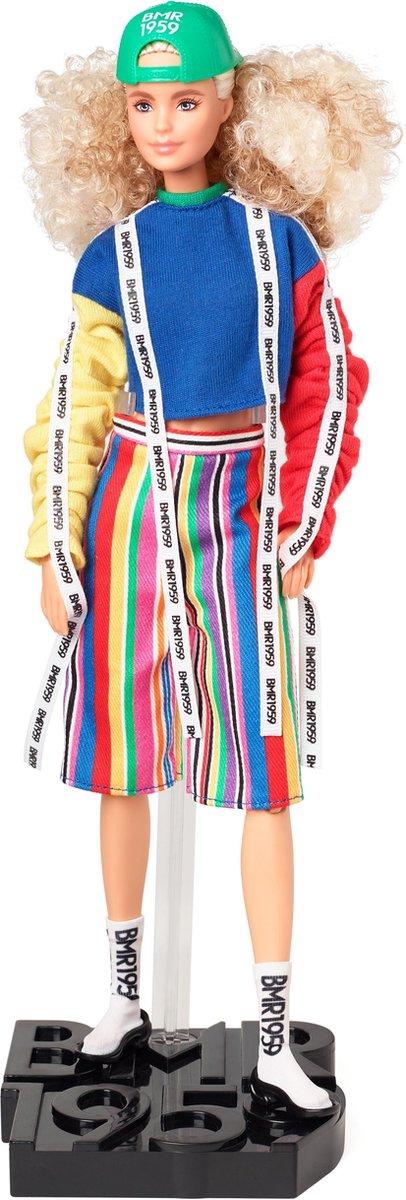 Barbie BMR 1959 pop met krullend haar - Barbiepop