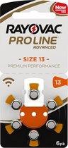 Rayovac 13 ProLine Advanced (Premium Performance) Zinc Air - 10 pakjes