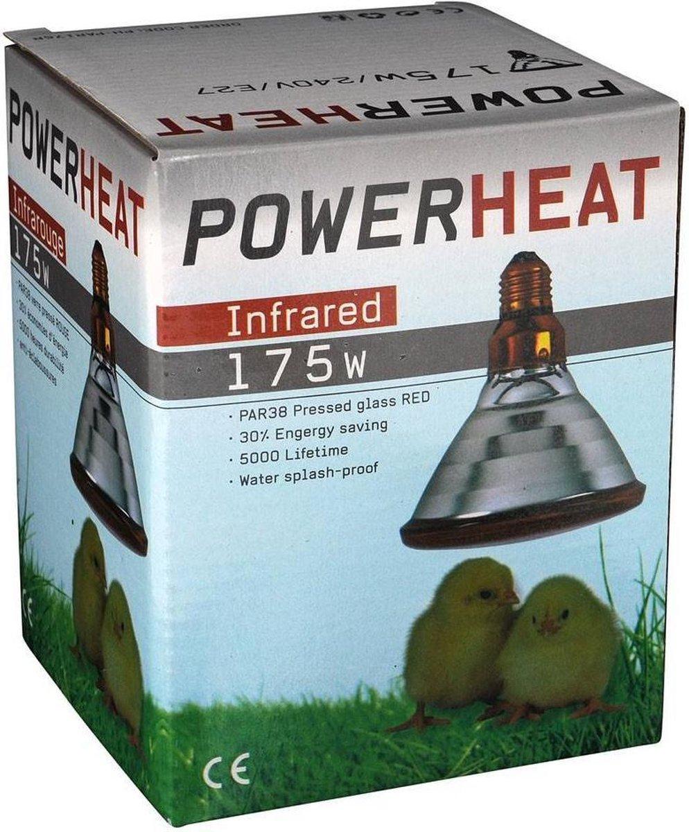 Warmtelampen PAR 175 watt
