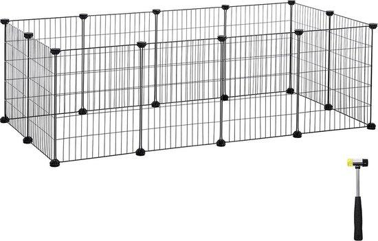 Metalen Kooi voor Cavia - Hok voor Konijn of Puppy - Ren