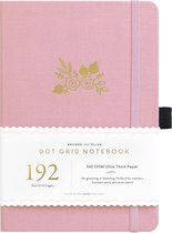 Archer & Olive Notitieboek A5 Dotted - Light Pink (192 pagina's)