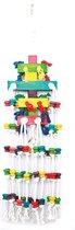 Happy pet speelgoed raindrop papegaai 25x100 cm