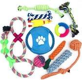 Honden speelgoed geschikt voor puppy's en kleine honden - 12 stuks