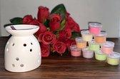 Wax Melts (parfum)geuren verrassingspakket met 10 geuren incl. DHHM | Aromabrander | Geurbrander | Stippen