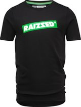 Raizzed Jongens T-shirt - Deep Black - Maat 116