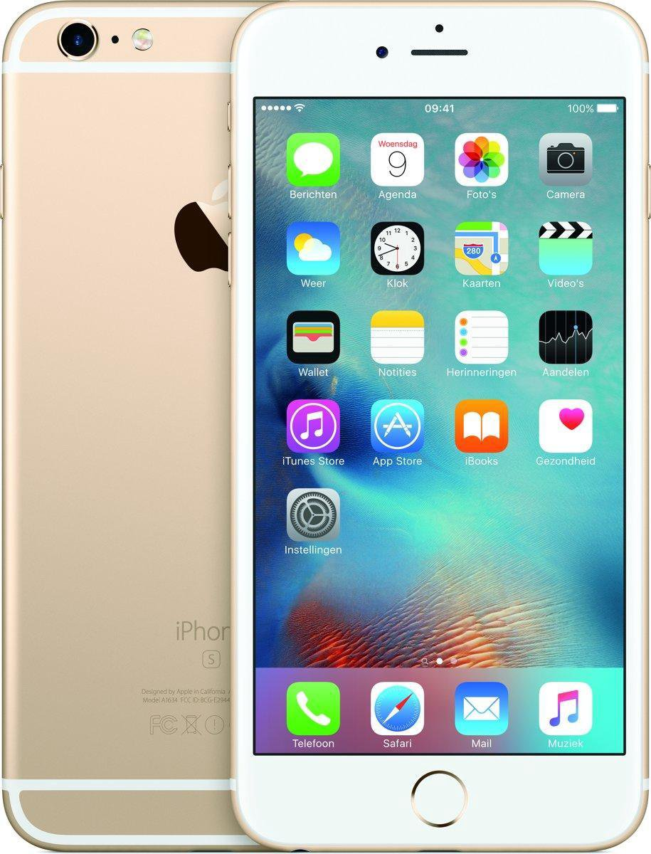 iPhone 6s Plus 64GB Gold - Refubished door Catcomm - A Grade kopen