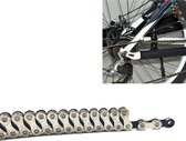 Dead Fly Mountain Road Folding Bicycle Chain Boxed Single Speed Shift Bicycle Accessories(10-speed chain)