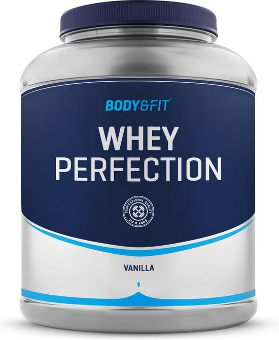 Body & Fit Whey Perfection - Whey Protein / Proteine Shake - 2270 gram - Vanille