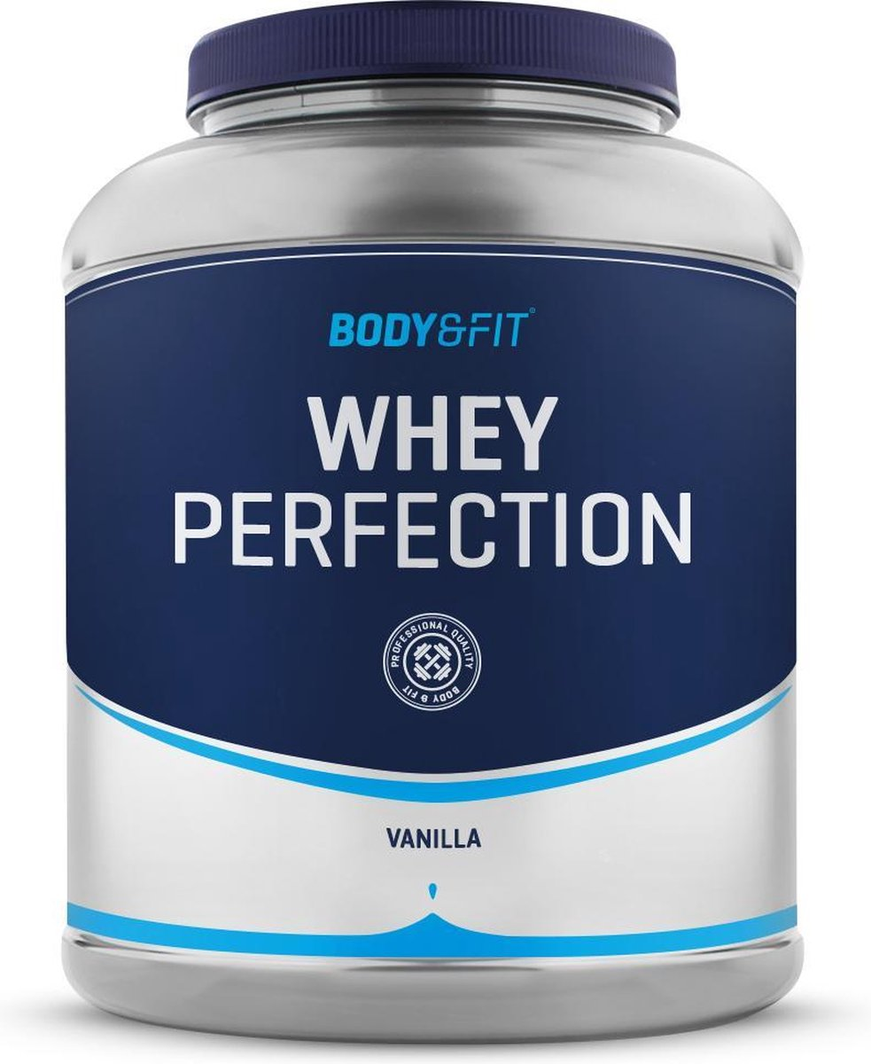 Body & Fit Whey Perfection - Whey Protein / Proteine Shake - 2270 gram - Vanille