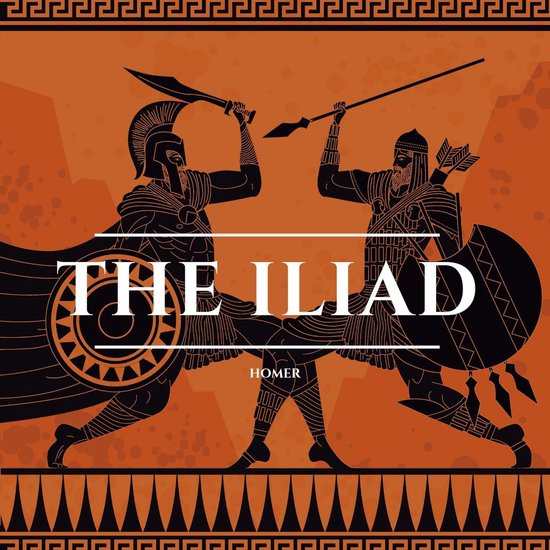 Boek cover The Iliad van Homer (Onbekend)
