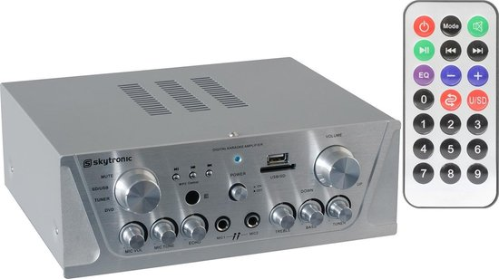 Karaoke Amplifier FM/USB/SD/MP3
