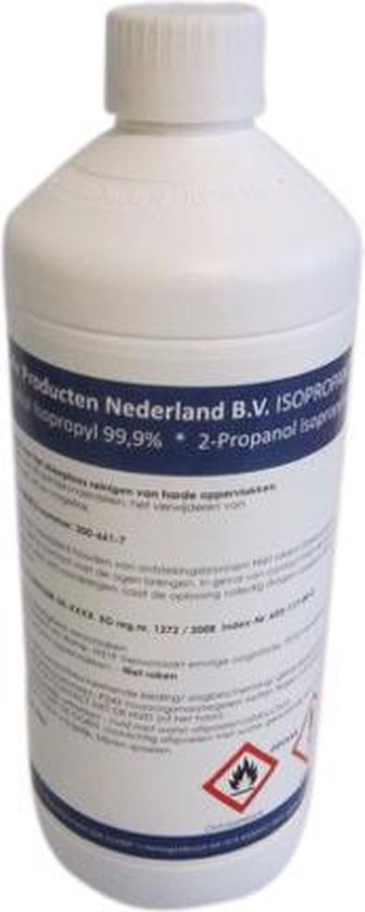 Isopropyl  Isopropanol alcohol 99,9% - 1000ml