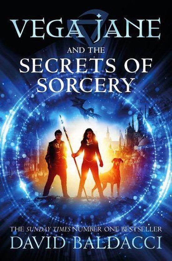 Omslag van Vega Jane and the Secrets of Sorcery
