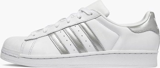 bol.com | Adidas Superstar Wit / Grijs - Dames Sneaker ...