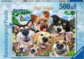 Ravensburger puzzel Vrolijke honden - legpuzzel - 500 stukjes
