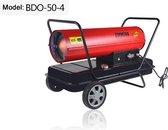 SIAL BDO50: 50KW, 1100M2 Directe heater, Dieselheater  Heteluchtkanon Warmtekanon