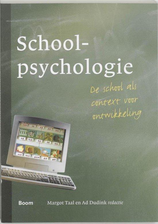 Schoolpsychologie - Margot Taal |