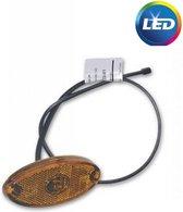 Aspock Flatpoint 2 markeringslamp - oranje - LED - platte kabel