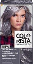 L'Oréal Paris Colorista Permanent Gel - Smokey Grey - Permanente Haarkleuring
