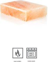 Rivsalt Himalayan zoutblok - bakplaat - 3,2KG